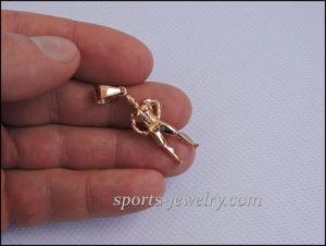 Sport jewelry Men's Physique pendant