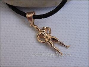 Sports gift Men's Physique pendant