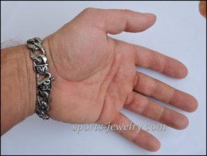 Stainless steel Gifts for men bracelet