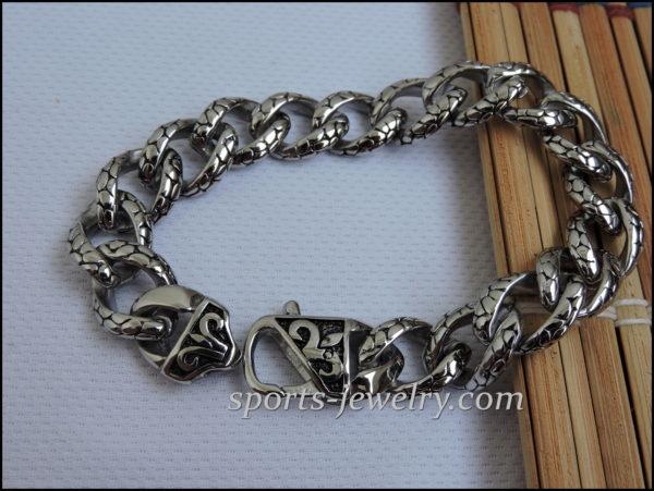 Stainless steel Men bracelet