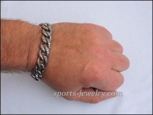 Stainless steel bracelet Men's