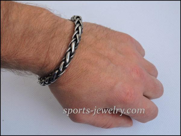 Stainless steel bracelet big Men's