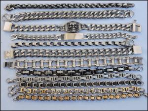 Stainless steel bracelets dg