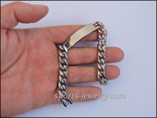 Stainless steel bracelets hgp