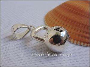 kettlebell jewellery Sports gift