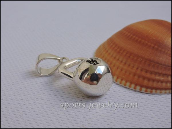 kettlebell jewellery Sports jewelry