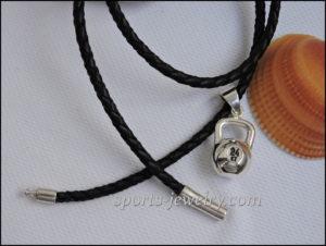 kettlebell necklace jewellery