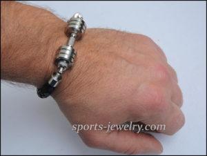 Barbell bracelets