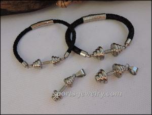 Barbell bracelets Fitness motivation