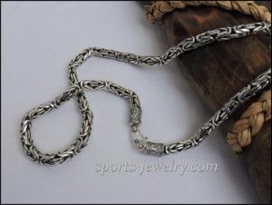 Chain necklace Byzantium Bodybuilding gift