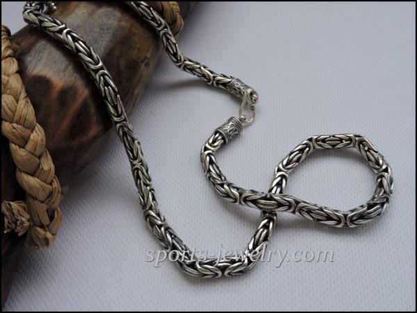 Chain necklace Byzantium Fitness jewelry