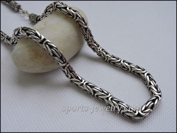 Chain necklace Byzantium Sport pendants