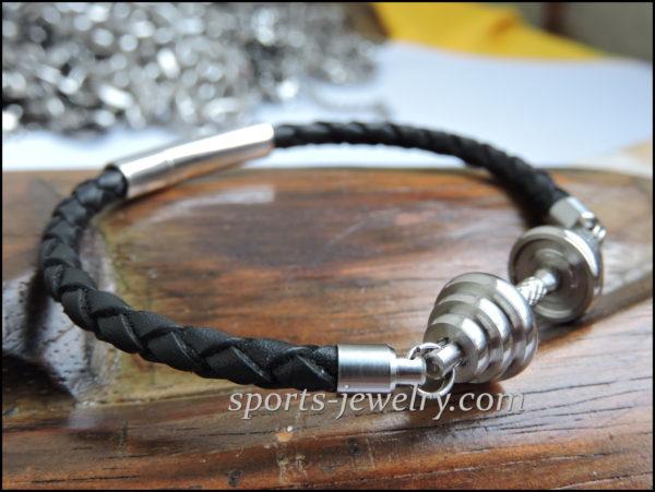 Dumbbell bracelet Sports gift for girls