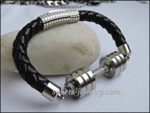 Dumbbell bracelets