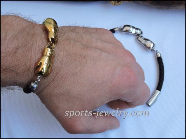Glove necklace Fighter bracelet