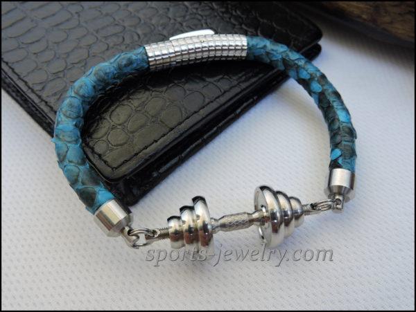 Snake leather bracelet price