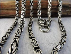 Byzantine necklace chain Gift coach Photo 02