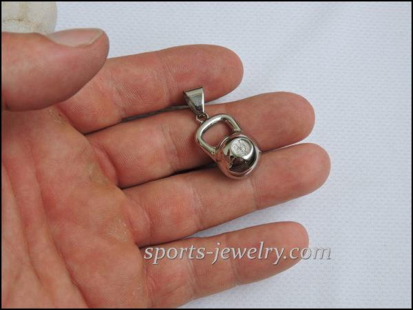 Gift coach Kettlebell necklace