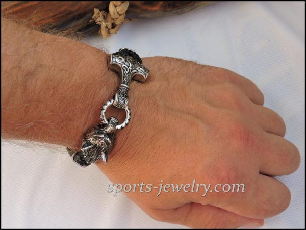 Thor's hammer bracelet price