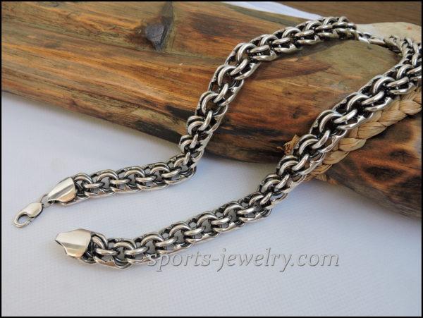 Silver big chain