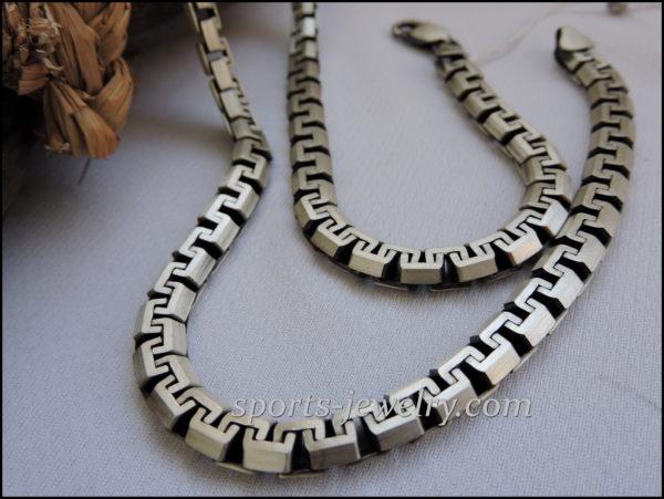 Silver chain men women buy