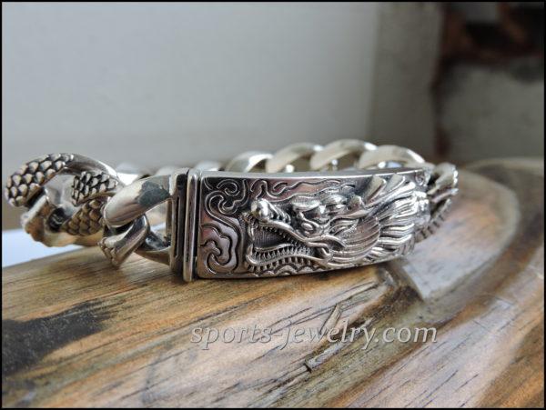 Silver dragon bracelet price