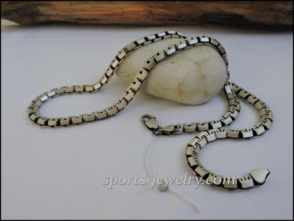 Silver fashion chain price