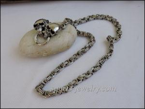 Stainless steel skull chain buy up