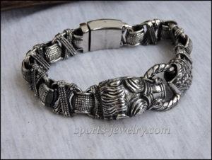 Boar bracelet stainless steel