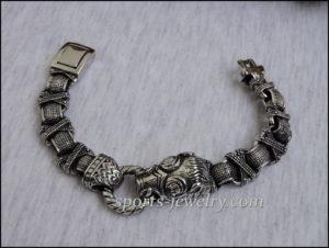 Boar bracelet stainless steel 03