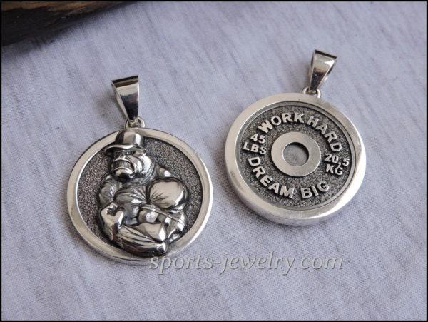 Gorilla necklace Weightlifting