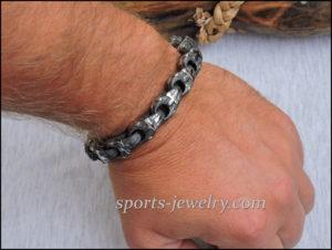 Stainless steel cross bracelet 03